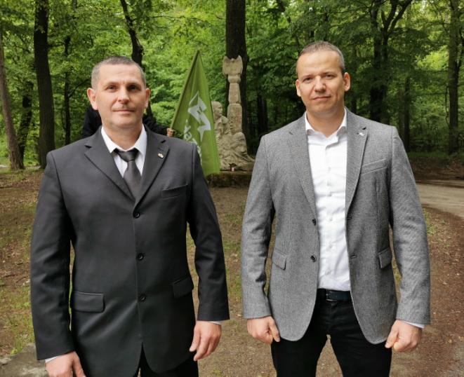 Újabb jelöltet mutatott be a Mi Hazánk, ezúttal Sopronban, szimbolikus helyszínen