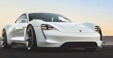 600+ lóerős a Porsche első villanyautója, retteghet a Tesla
