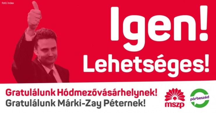 """Nem csak Lendvai Ildikó, az MSZP elnöksége is beállt az """"annyira jobboldali"""" Márki-Zay mögé"""