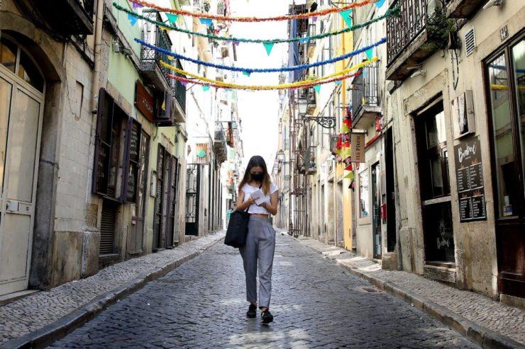 Vesztegzár alatt van a portugál főváros