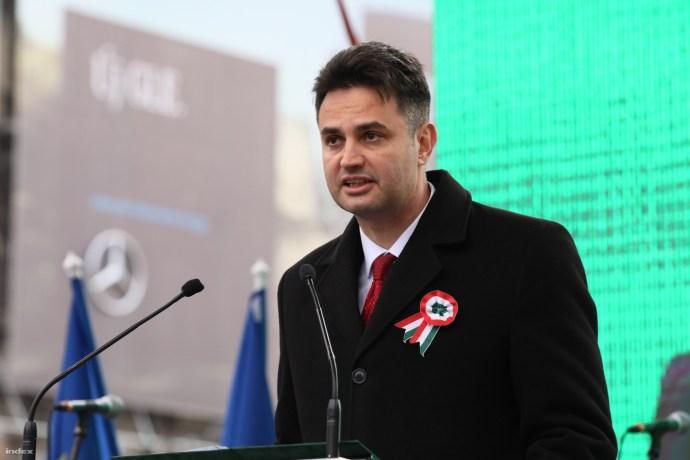 """""""Nemzeti egység"""" – Gyurcsány zsidó feleségével és a többi gazemberrel állt ma egy színpadon a Jobbik"""