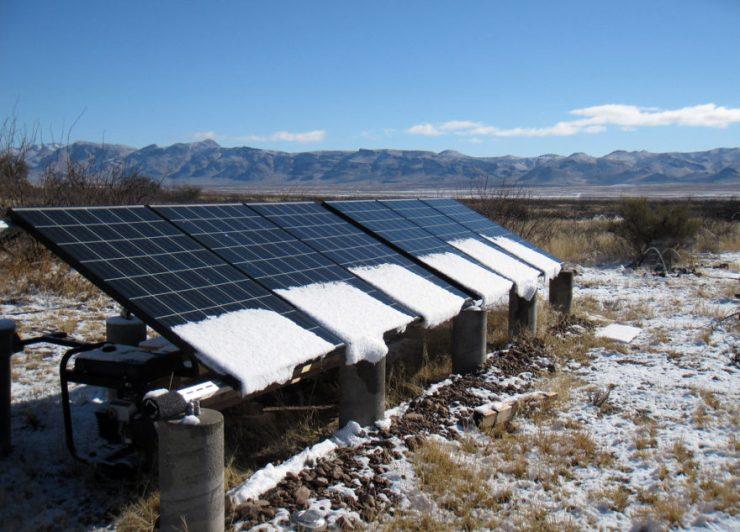 Mennyire bírják a hideget a napelemek?