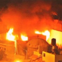 Szélsőséges iszlamisták felgyújtottak egy zsidó szent helyet