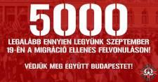 Migráció ellenes felvonulás szeptember 19-én Budapesten – Te ott leszel?