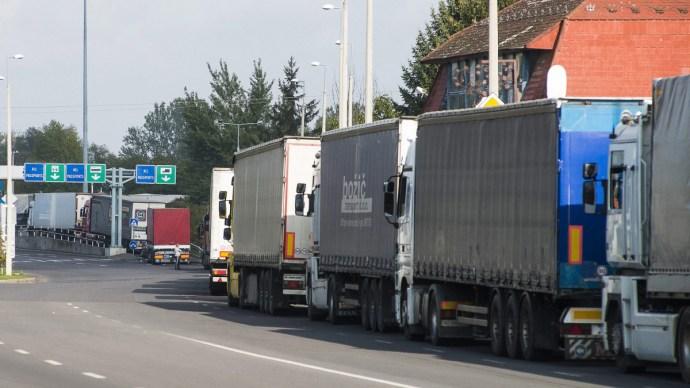 ORFK: nő a nemzetközi tehergépjármű-forgalom a határátkelőhelyeken
