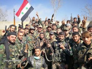 Hadi helyzet Kelet-Ghoutaban