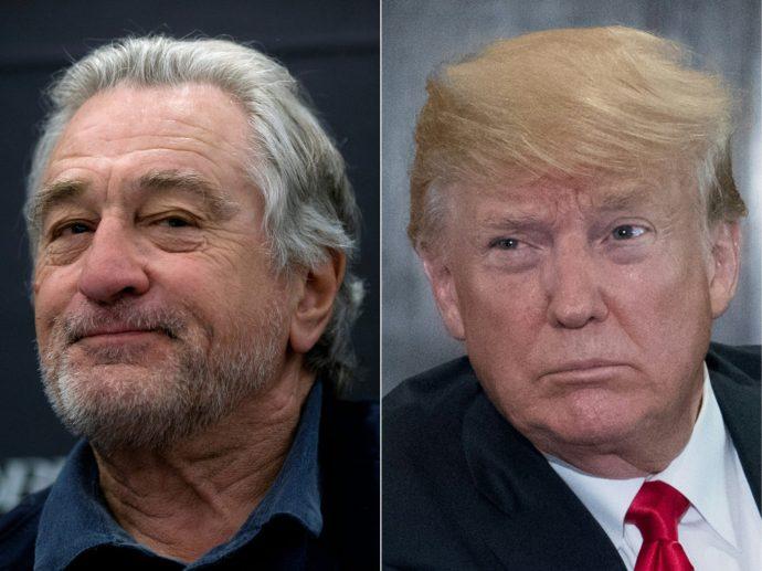 Még nem lefutott a Trump–De Niro meccs