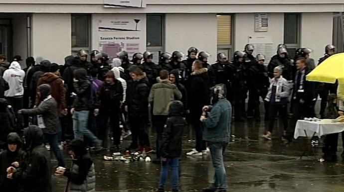 Derbi: óriási a rendőri készültség Újpesten
