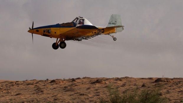 Izraeli katonák civil repülőgépre lőttek a Golán fennsíkon