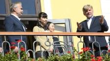 Bábolnán lovaskocsizott a japán hercegnő