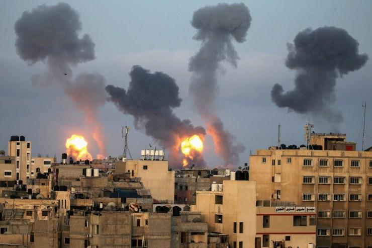 Mintegy 1 500 rakétát lőttek ki a héten Izraelre a Gázai övezetből