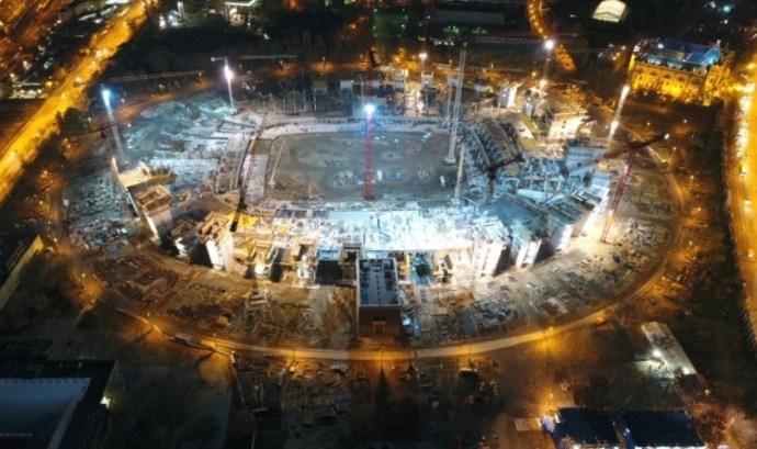 Így épül az új Puskás-stadion (képek)
