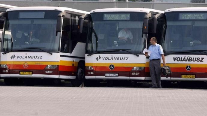 743 millióért ellenőrzik a Volánbusz utasait és sofőrjeit
