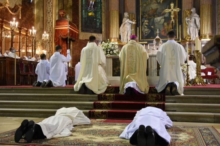 Az imádság gyümölcse – Diakónusszentelést ünnepeltek Nagyváradon