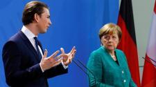 Sebastian Kurz Merkelnél jobb és áttörés előtt