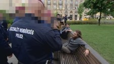 Kiürítette a rendőrség a Kossuth teret