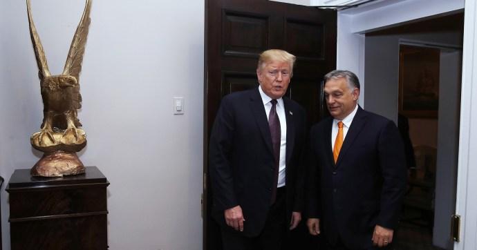 Orbán szerint Trump világosfejű
