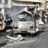 Újabb vérfürdőt rendezett az Iszlám Állam Homszban (videofelvétel)