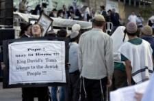 Jeruzsálemben az ultraortodox zsidók elfoglalták az utolsó vacsora termét