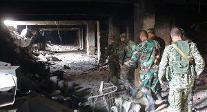 Exkluzív: Brit katonákat fogott el a szíriai hadsereg Kelet-Ghoutában
