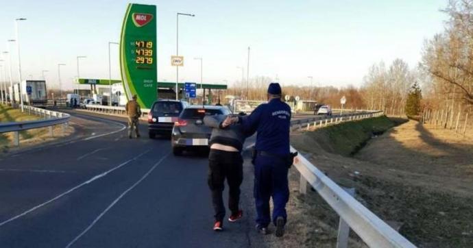 Megerősíti a határellenőrzést a magyar rendőrség hétfőtől
