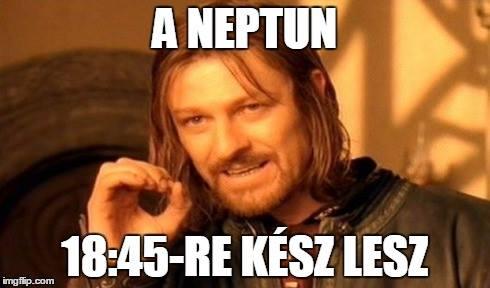 Összeomlik a Neptun? A hallgató a hibás!