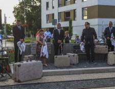 GALÉRIA: A kitelepített lakosokra emlékeznek Somorján
