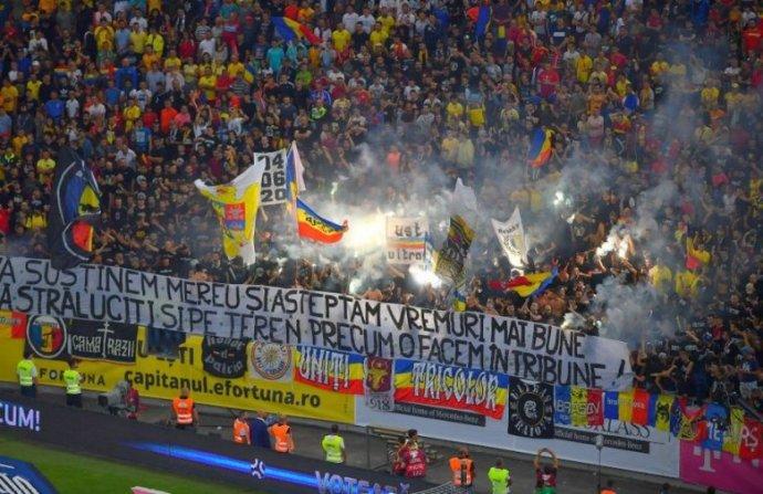 Visszaesők: a román ultrák a Málta elleni mérkőzésen is gyalázták Magyarországot