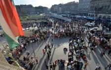 Videón a Baross tér blokádja – franciaországi hangulat a magyarok fővárosában