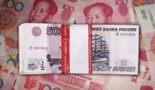 Rubel és jüan a dollár helyett