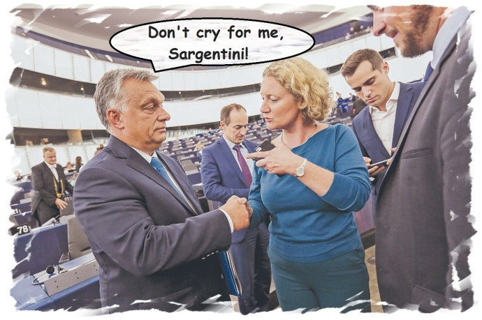 Don't cry for me Sargentini