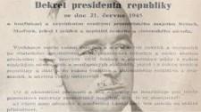 Vincze Loránt a Beneš-dekrétumokról:Elfogadhatatlan a 21. század Európájában nemzetiségi alapon ingatlanokat elkobozni