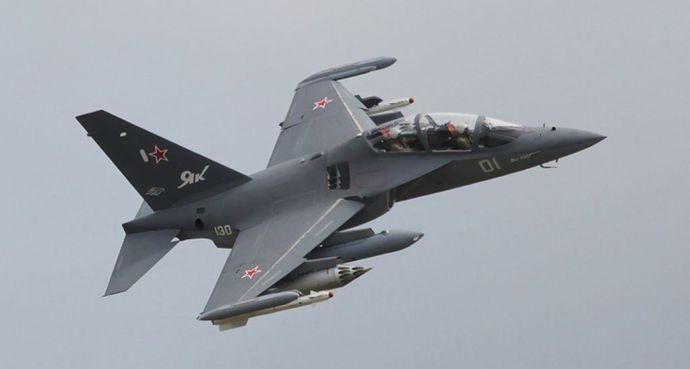 Lezuhant egy katonai repülőgép Oroszországban
