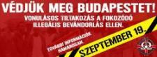 Védjük meg Budapestet – Vonulást szervez a HVIM