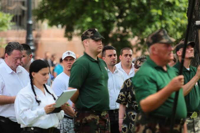 Vona: történelmet írt a 2009-ben elhurcolt 216 gárdista – összefogva emlékeztek a nemzeti szervezetek a Bajtársiasság Napán