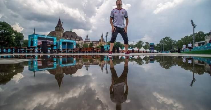 EURO-2020: Megnyitotta kapuit a városligeti szurkolói zóna Budapesten