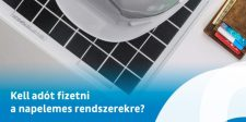 Kell adót fizetni a napelemes rendszerek után?
