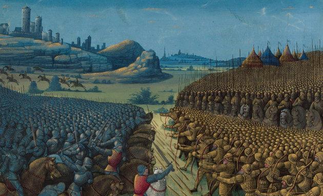 Luxemburgi Zsigmond taktikáját felülírva rohantak végzetükbe a keresztes seregek Nikápolynál