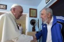 Ferenc pápa Fidel Castróval találkozott