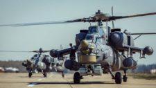 Oroszország Szíriába szállította az új MI-28 NM támadó helikopterének prototípusát
