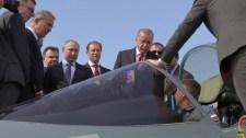 Erdogan Putyinnal fagyizott, és megkérdezte, bevásárolhatna-e ötödik generációs vadászbombázóból