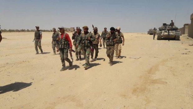 A szíriai hadsereg is részt vesz az iraki hadsereg terror ellenes hadműveleteiben