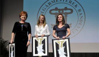 Átadták az év polgármestere díjat