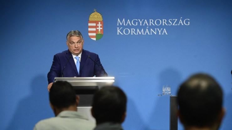 Orbán Viktor: ha nem lesz megállapodás a moratóriumról, maradnak a mostani szabályok
