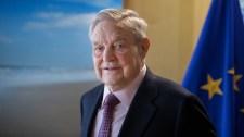 Tiszteletbeli köztársasági elnöknek fogadja Soros Györgyöt egy baloldali egyesület