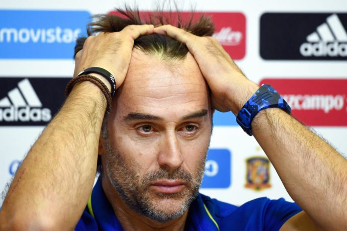 Egy nappal a vébé előtt kirúgták a spanyol kapitányt