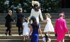 A gyerekek a hercegi esküvőn is gyerekek – cuki galériánk következik