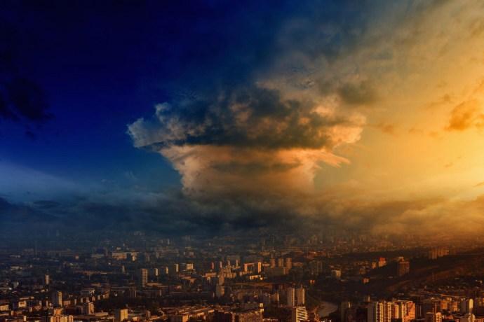 Nukleáris felhő a fejünk felett: a közelében sem voltunk a veszélyes szintnek