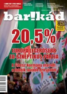 20,5% – A Jobbik erősödését elemzi a legfrissebb Bar!kád