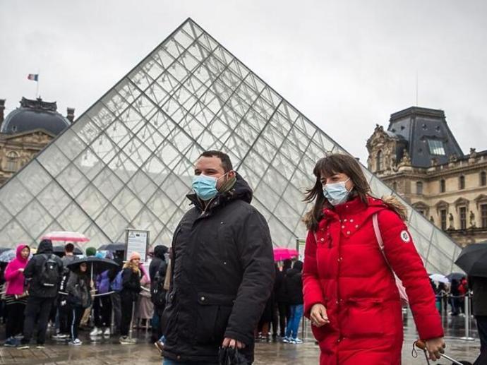 Franciaországban az előrejelzettnél lassabban terjed a koronavírus-járvány